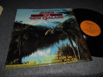 Songs Of New Zealand (LP) Maori Chorale NM/EX