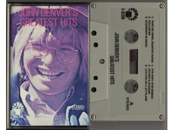 JOHN DENVER - John Denver's Greatest Hits - KASSETT