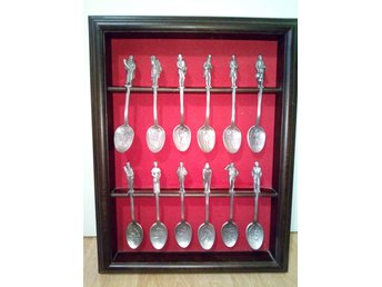 The Charles Dickens christmas carol spoon collection