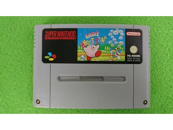 Kirby's Ghost Trap Super Nintendo Snes