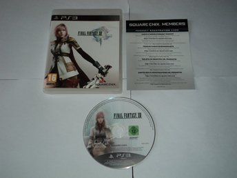PS3 Final Fantasy XIII 13