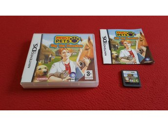 PAWLY PETS MY VET PRACTICE till Nintendo DS NDS