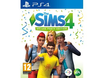 The Sims 4 Deluxe Party Edition - Helt nytt till PS4!!! REA (Ord. 899kr)