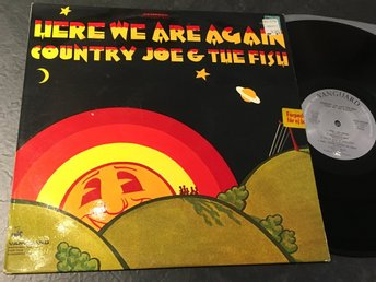 COUNTRY JOE & THE FISH here we are again LP -69 Swe VANGUARD VSD-79299