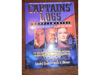 STAR TREK - Deep Space Nine/Voyage - Captains' Logs - Supplemental, bok USA 1996