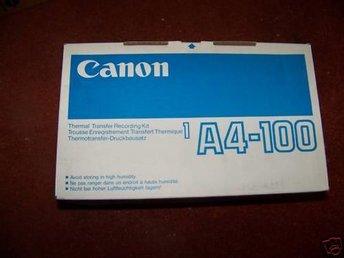 Canon Fax 610 Thermal Transfer fax Cartridges 1A4-100 Ny Org