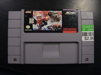 NFL QUARTERBACK CLUB 96 / SUPER NINTENDO SNES / USA IMPORT