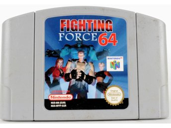 Fighting Force 64 - N64 - PAL (EU)