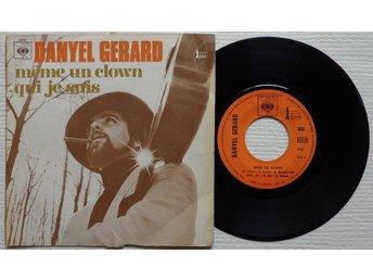 """DANYEL GERARD 'Meme Un Clown' 1971 French 7"""" - Bröndby - DANYEL GERARD 'Meme Un Clown' 1971 French 7"""" - Bröndby"""