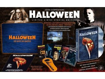 HALLOWEEN Limited Box, Mediabook, Soundtrack, 3 Disc mm - Uppsala - HALLOWEEN Limited Box, Mediabook, Soundtrack, 3 Disc mm - Uppsala