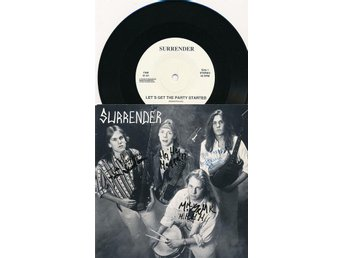 "Surrender - Let´s get the party started   7""PS"