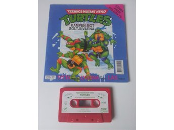 Musiksaga Teenage Mutant Hero TURTLES- Kampen mot solstjuvarna
