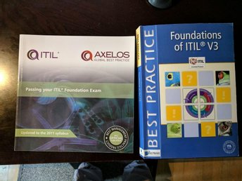 Foundations of ITIL V3 och Passing your ITIL Foundation Exam