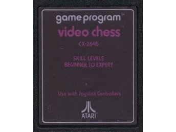 Atari 2600 - Video Chess (CX2645) (Beg)