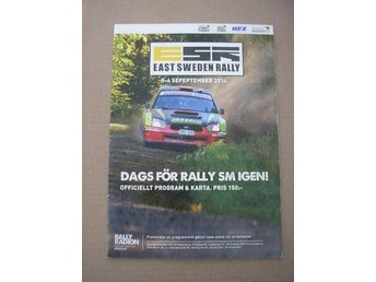 Rally Program SM East Sweden Rally 5-6/9 2014