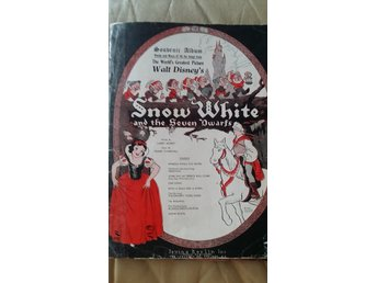 noter Snow White Disney piano/sång