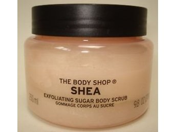 ** The body shop Shea scrub 250 ml **