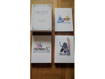 Final Fantasy Box Set, 3 guideböcker till FF X, X-2 & XII inkl 3 artwork.