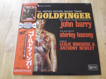 JAMES BOND - GOLDFINGER (Japanpress)  TOPPEX