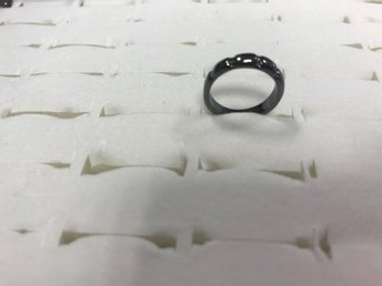Superfin Ring i Titanium Steel