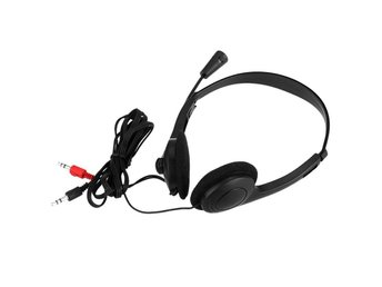 Stereo Headset Earphone Headphone with Microphone Adjustable Headband.