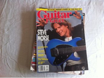 Guitar Player oktober 1989 - Steve Morse, Pete Townshend, Jeff Beck