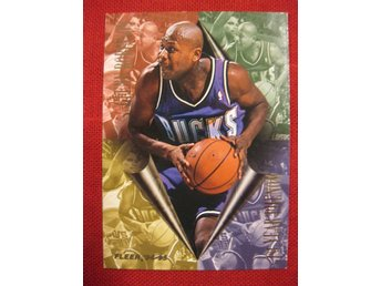 GLENN ROBINSON - FLEER 1994-95 1ST YEAR PHENOM  - BASKET