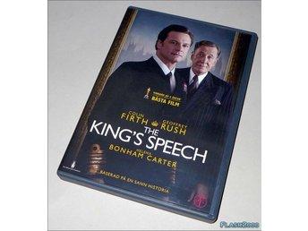 The Kings Speech - DVD med svensk text - Helsingborg - The King's Speech - DVD med svensk text - Helsingborg