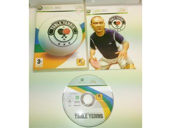 XBOX 360 spelet ** Table Tennis ** ** KOMPLETT **