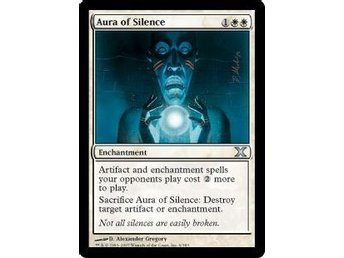 Aura of Silence FOIL - 10th Edition - NM/M - English - Helsinki - Aura of Silence FOIL - 10th Edition - NM/M - English - Helsinki