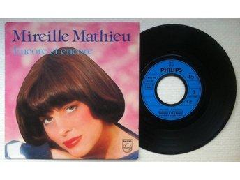 """MIREILLE MATHIEU 'Encore Et Encore' 1981 French 7"""" - Bröndby - MIREILLE MATHIEU 'Encore Et Encore' 1981 French 7"""" - Bröndby"""