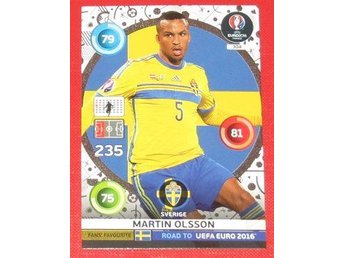 Martin Olsson Road to UEFA Euro 2016 Adrenalin XL Fans Favourite
