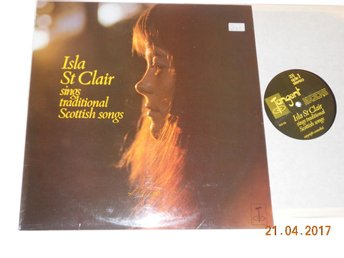 ISLA St CLAIR sings traditional Scottish songs, LP Tangent UK 1972