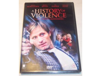 A History of Violence * Viggo Mortensen - David Cronenberg * Sv. text * DVD - Kristinehamn - A History of Violence * Viggo Mortensen - David Cronenberg * Sv. text * DVD - Kristinehamn