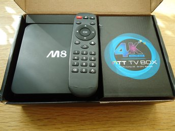 M8 4K Android TV Box ARM Cortex-A9 Quad Core Streaming