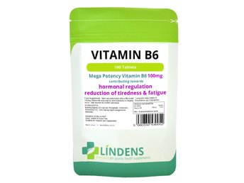 Lindens Vitamin B6 100 mg Dubbel Pack 200 Tabletter B-6