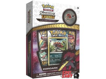 Pokemon TCG Shining Legends Pin Collection Zoroark