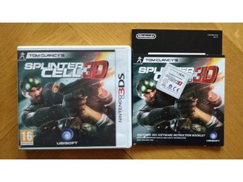 Nintendo 3DS: Splinter Cell 3D