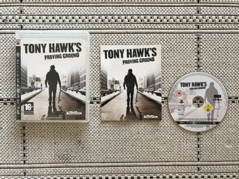 Tony Hawk's Proving Ground till Playstation 3, PS3, komplett