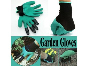Garden Gloves with Fingertips Claws Q...