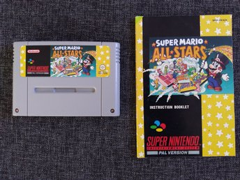Super Mario All-Stars, SNES/Super Nintendo PAL