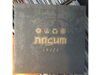 NASUM Shift LP original rotten sound napalm death exhumed repulsion grind core