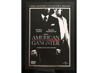 DVD - AMERICAN GANGSTER (RUSSEL CROWE, DENZEL WASHINGTON)