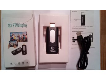 1 st HDMI DONGLE PTVDISPLAY 1080P FULL HD OUTPUT. Beg. BILLIGT!
