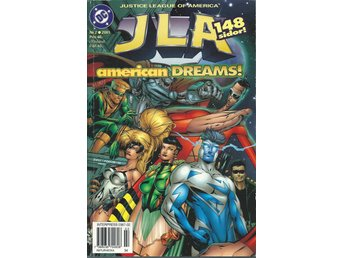 Justice League of America Nr. 2 2001 - American dreams - 148 sidor