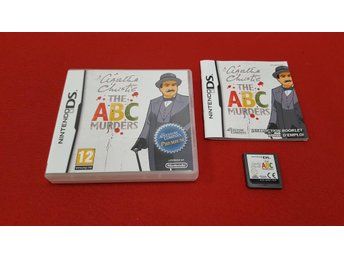 AGATHA CHRISTIE THE ABC MURDERS till Nintendo DS NDS