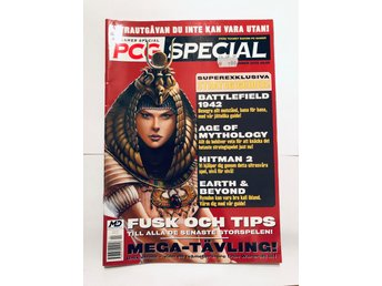 Svenska PC Gamer Special September 2002 Strategiguider, fusk och tips!