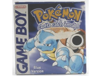Pokemon Blue Version - Game Boy