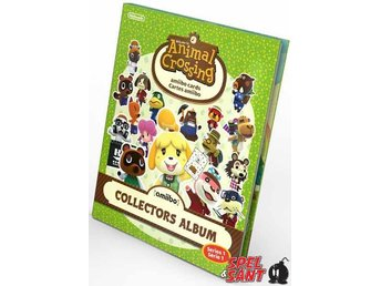 Animal Crossing Amiibo Cards Collectors Album (Series 1)