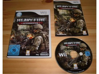 Wii: Heavy Fire Afghanistan